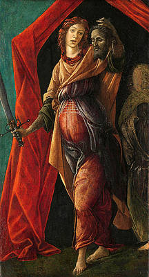 Judith with the Head of Holofernes 2 Print by Sandro Botticelli