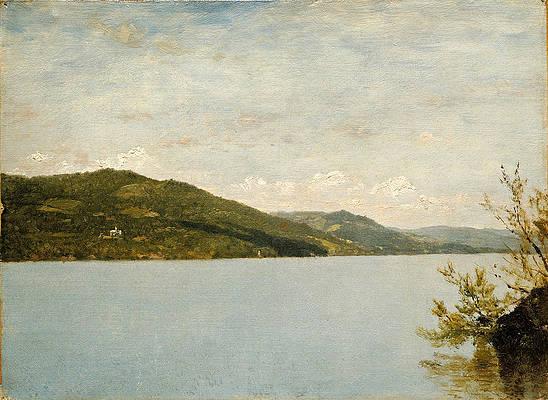 Lake George 2 Print by John Frederick Kensett