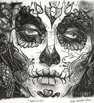 Day Of The Dead Drawings Fine Art America