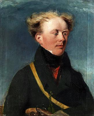 Portrait of Eugen von Bardeleben Print by Ferdinand von Rayski