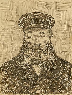 Portrait of Joseph Roulin 2 Print by Vincent van Gogh