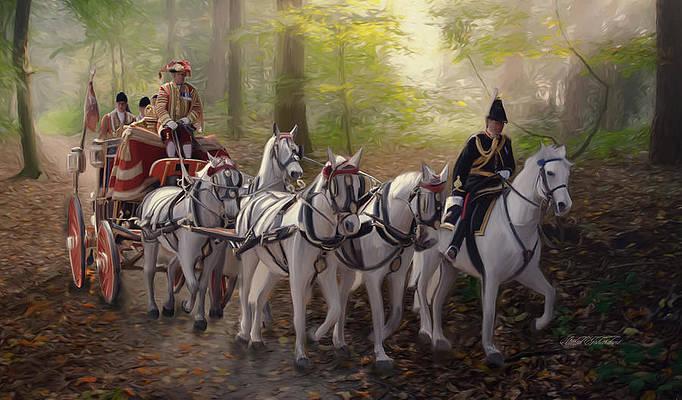 Royal Coach Moment by Omid Gohardani