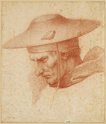 Saint Jerome, after Raphael Print by Jean-Auguste-Dominique Ingres