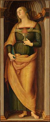 Saint Lucy Print by Pietro Perugino