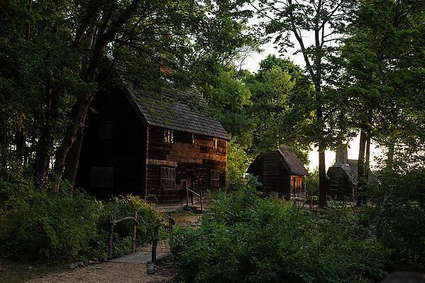 Salem Massachusetts Pioneer Village Forest River Park Photograph By Toby Mcguire