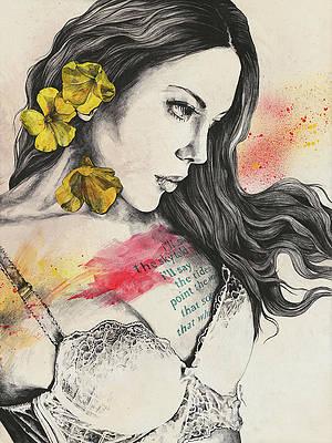Реалистичный цветочный рисунок - So Warm A Solitude от Marco Paludet