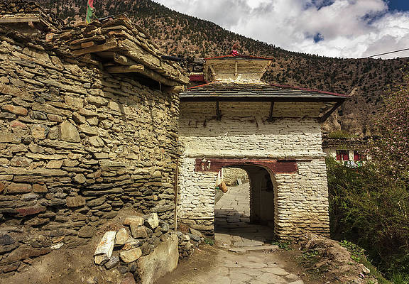 The Gateway of Marpha by Balaji Srinivasan