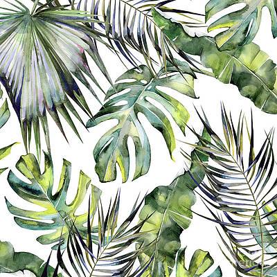 Monstera Leaf Paintings Fine Art America Buy foam tropical monstera leaf from the succulents & foliage range at hobbycraft. monstera leaf paintings fine art america
