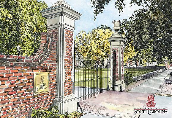 University Of South Carolina Paintings Fine Art America