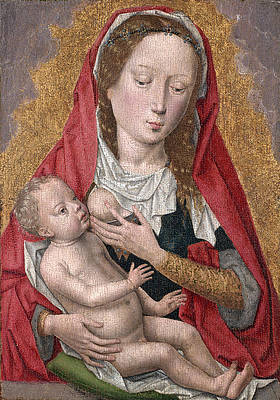 Virgin and Child 2 Print by Hans Memling