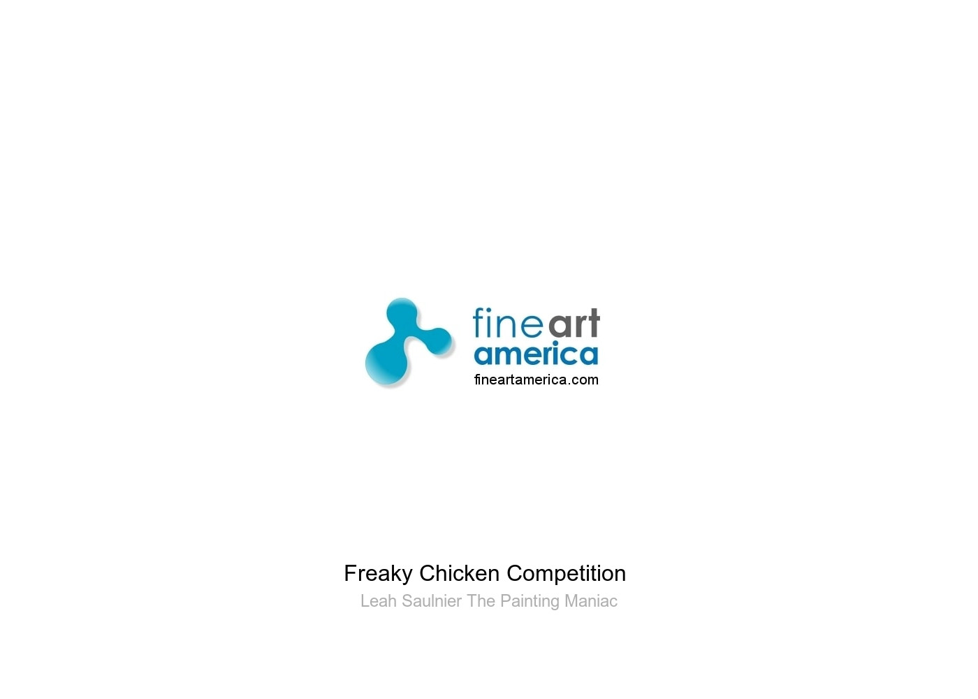 Freaky Chicken Competition Greeting Card