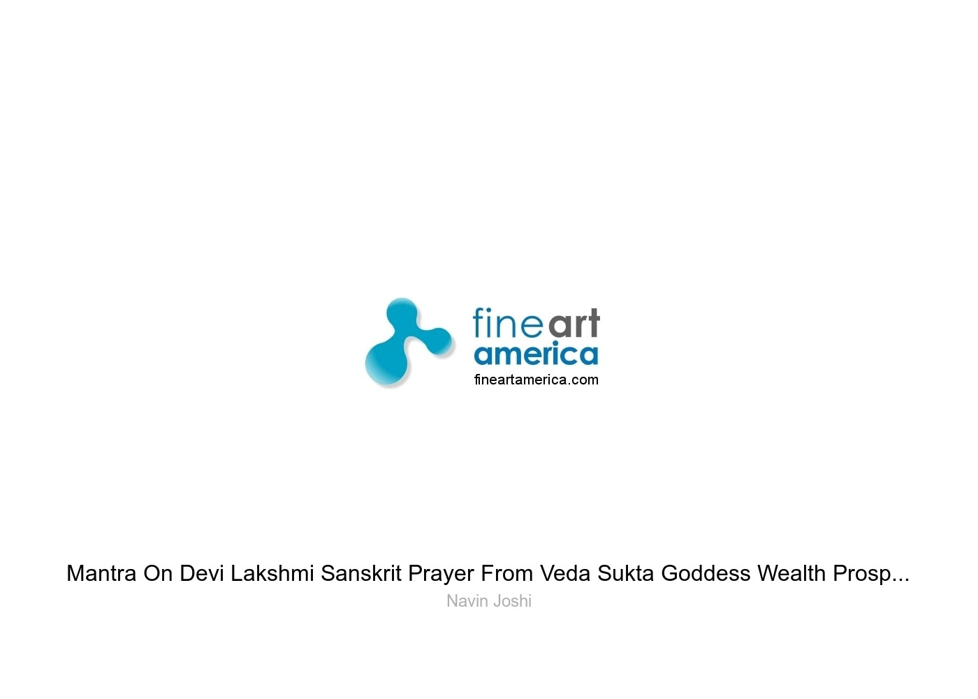Mantra On Devi Lakshmi Sanskrit Prayer From Veda Sukta Goddess Wealth  Prosperiity Greeting Card