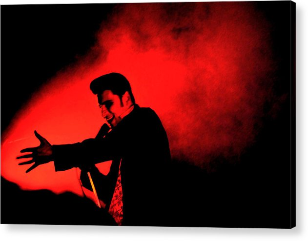 William Control Acrylic Print featuring the digital art William Control by Gino Inocentes