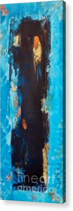 Acrylic Print featuring the painting Dancing 2 by Daniela Hallgren