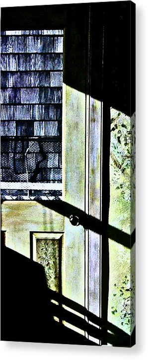 Alice Brock Acrylic Print featuring the photograph Kitchen Door At Alice Brock's by Mike McCool