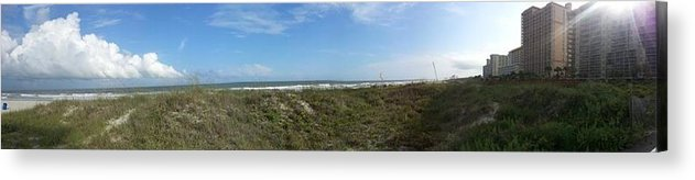Myrtle Beach Acrylic Print featuring the photograph Myrtle Beach Summer by Robert Scarborough
