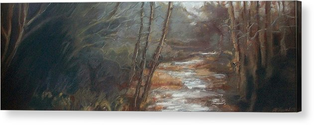 Maine Acrylic Print featuring the painting Quietude by Grace Keown