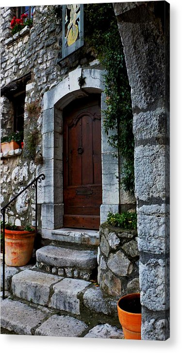 Stone Acrylic Print featuring the photograph Warm Welcome by Christine Burdine