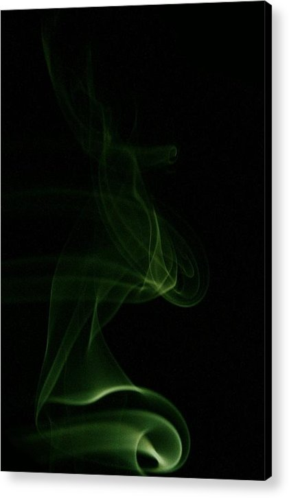 Smoke Photography Acrylic Print featuring the photograph 20 by James Cummings