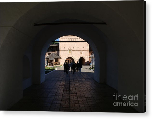 Monastry Acrylic Print featuring the photograph Euthimiev Monastry 53 by Padamvir Singh