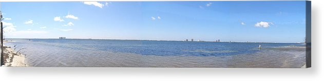 Florida Acrylic Print featuring the photograph Gulf Island Stitch by Mark Caldwell