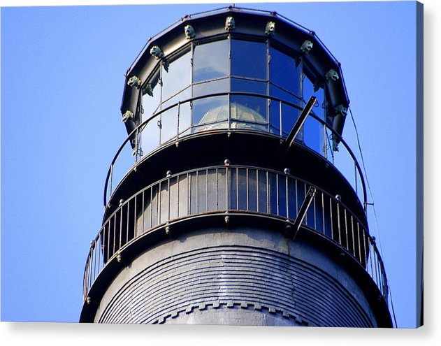 Acrylic Print featuring the photograph Pensacola Lighthouse Observation by Christy Phillips