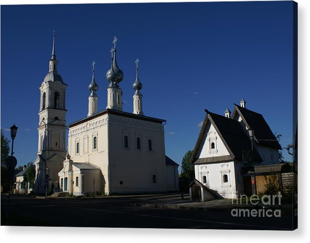 Suzdal Acrylic Print featuring the photograph Suzdal 22 by Padamvir Singh
