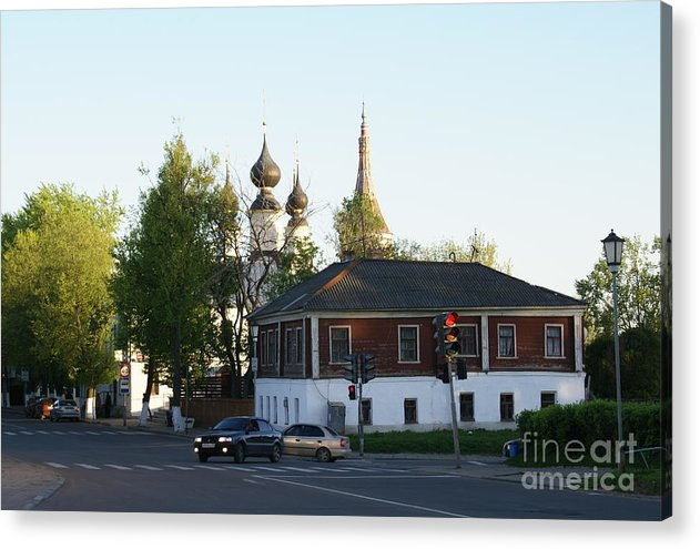 Suzdal Acrylic Print featuring the photograph Suzdal 27 by Padamvir Singh