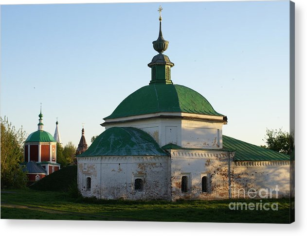 Suzdal Acrylic Print featuring the photograph Suzdal 34 by Padamvir Singh