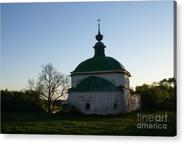 Suzdal Acrylic Print featuring the photograph Suzdal 35 by Padamvir Singh