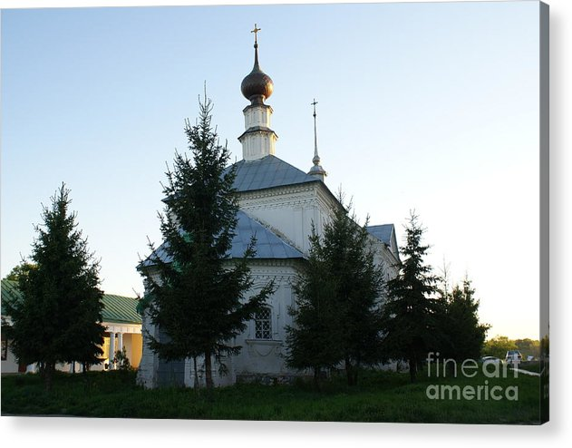 Suzdal Acrylic Print featuring the photograph Suzdal 40 by Padamvir Singh