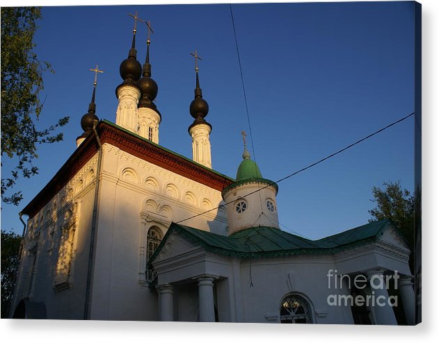 Suzdal Acrylic Print featuring the photograph Suzdal 42 by Padamvir Singh