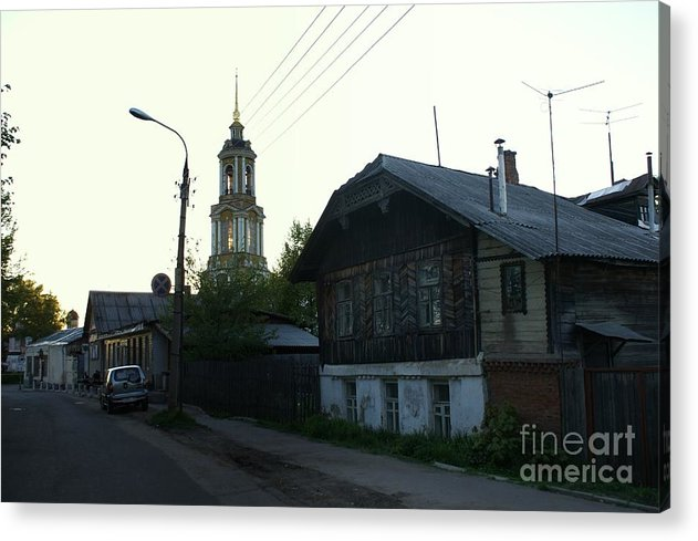 Suzdal Acrylic Print featuring the photograph Suzdal 45 by Padamvir Singh