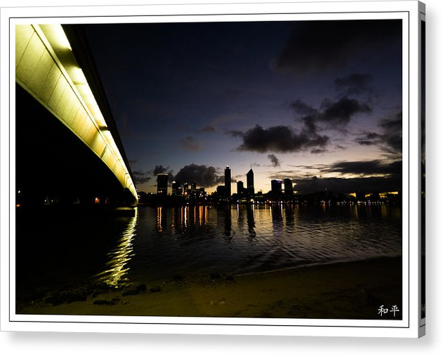 Perth Acrylic Print featuring the photograph The Narrows Bridge by Christopher Grace