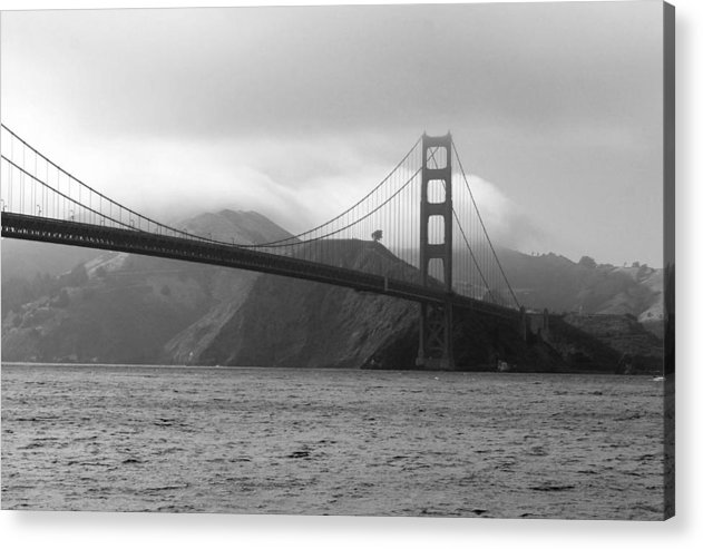 Photography Acrylic Print featuring the photograph Golden Gate by Ofelia Arreola