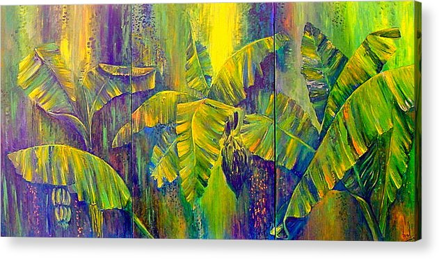 Nature Acrylic Print featuring the painting Our Richness by Carol P Kingsley