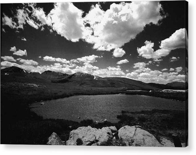 Alpine Lake Acrylic Print featuring the photograph Independence Pass Colorado by Susan Chandler