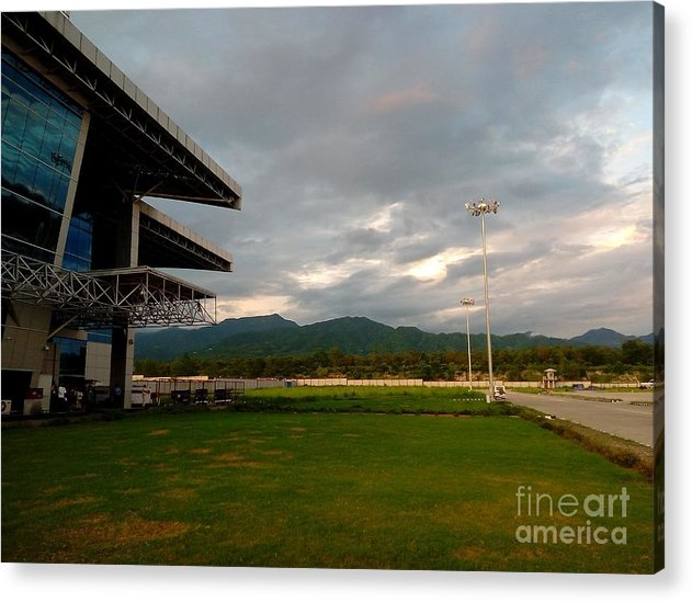 Airport Acrylic Print featuring the photograph Jolly Grant Airport by Padamvir Singh