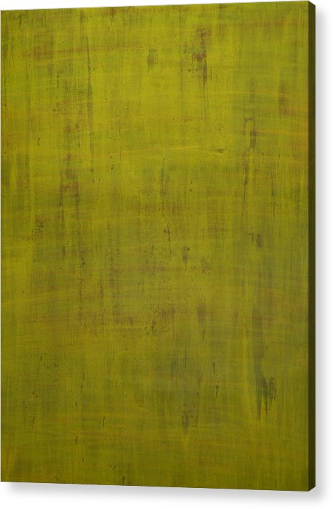 Green Acrylic Print featuring the painting Mystic Realization by Jana DiMartino