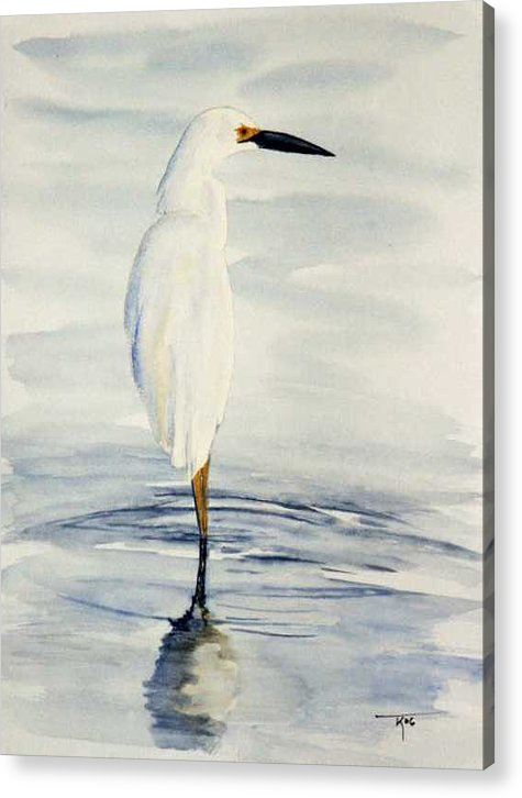Water Acrylic Print featuring the painting Patience by Travis Kelley