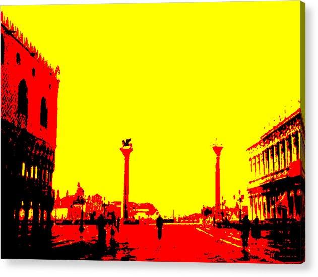 Landscape Acrylic Print featuring the photograph San Marco Sunrise No 3 by Samuel H Gross Jr