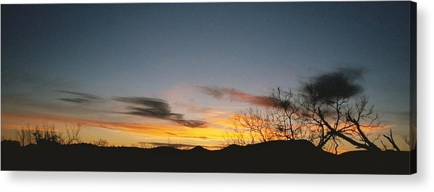 Landscape Acrylic Print featuring the photograph Texas Sunset Two by Ana Villaronga