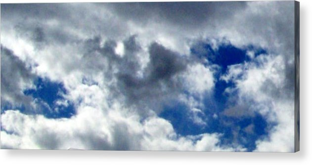 Sky Acrylic Print featuring the photograph The Desert's Sky by Cathy Kaiser