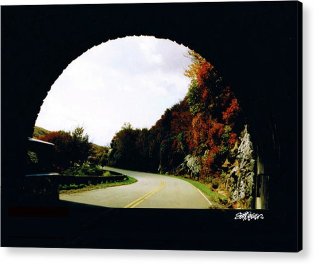 Tunnel Vision Acrylic Print featuring the photograph Tunnel Vision by Seth Weaver