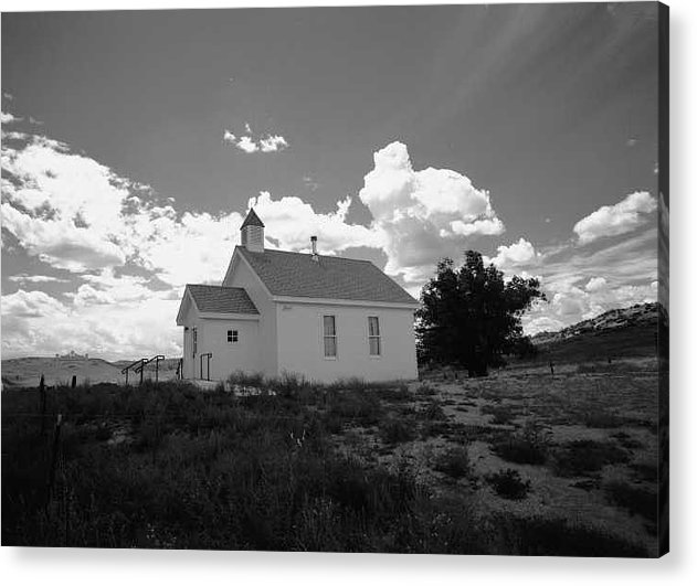 Church Acrylic Print featuring the photograph Virginia Dale Colorado by Susan Chandler