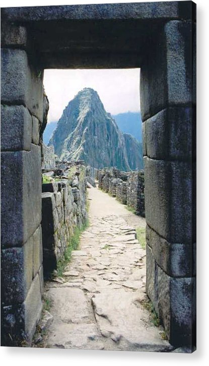 Peru Acrylic Print featuring the photograph Winay Picchu by Kathy Schumann