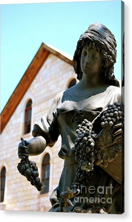 Wine Acrylic Print featuring the photograph Wine Goddess by Lori Leigh