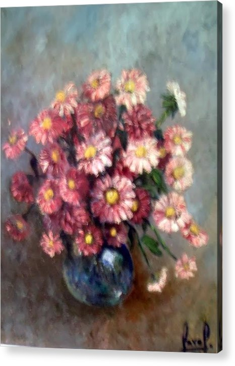 Acrylic Print featuring the painting Early Paint by Carol P Kingsley