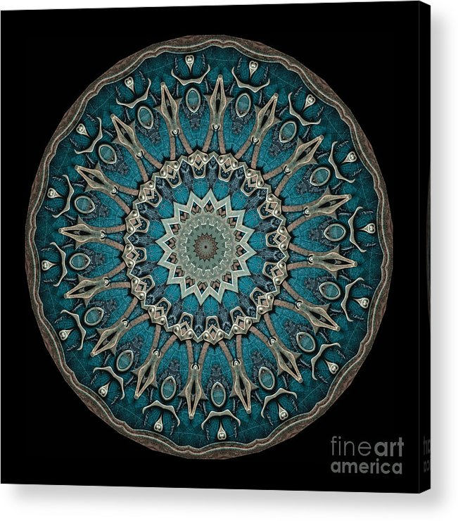 Fantasy Acrylic Print featuring the photograph Kaleidoscope Steampunk Series by Amy Cicconi