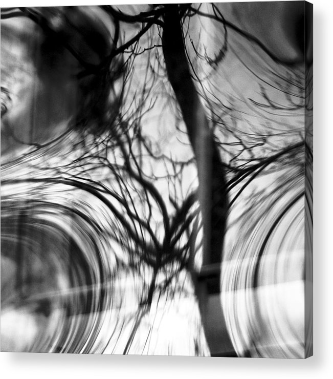 Abstracts Acrylic Print featuring the photograph Visual Funk 1 by Linda McRae